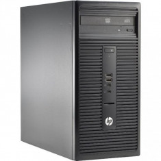 Calculator HP 280 G1 Tower, Intel Core i5 Gen 4 4570T 2.9 GHz, 4 GB DDR3, 250 GB HDD SATA, DVDRW