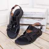 Sandale Piele Saliki negre