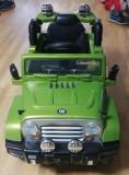 Masinuta electrica cu telecomanda JJ245 6V Verde Jeep
