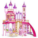 Casuta Pentru Papusi Simba Dream Castle Cu Papusa Steffi Love 29 Cm, Papusa Evi Love 12 Cm Si Accesorii