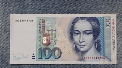 100 Mark 1996 Germania RFG, marci germane (2) foto