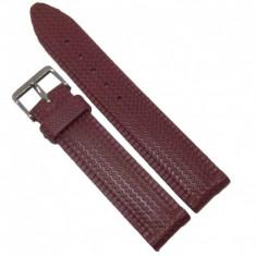 Curea ceas de silicon maro 22mm WZ1283