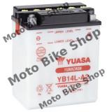 MBS Baterie moto 12V14AH / YB14L-A2 / Yuasa - fara electrolit, Cod Produs: 7070345MA