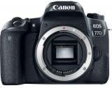 Aparat Foto DSLR Canon EOS 77D, Body, 24.2 MP, Full HD, Wi-Fi (Negru)