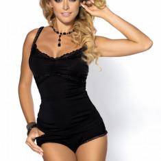 Pijama Anais Avery neagra