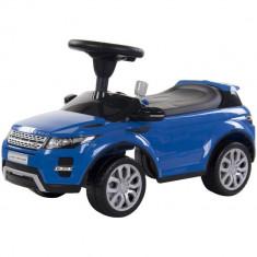 Masinuta fara pedale cu bord realistic,oglinzi si claxon Range Rover Evoque Albastru