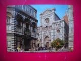 HOPCT 67977  CATEDRALA SI BOTEZATORUL -FIRENZE/FLORENTA   ITALIA-NECIRCULATA