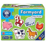 Set 6 puzzle Ferma (2 piese) FARMYARD, orchard toys
