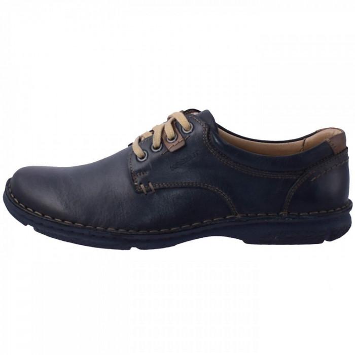 Pantofi barbati, din piele naturala, marca Krisbut, PBK 4590-3-1-42, bleumarin , marime: 44