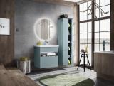 Set Mobilier pentru baie, 4 piese, Bahama Mint