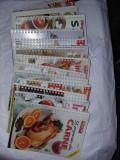 16 carti bucate,PRACTIC IN BUCATARIE,PENTRU FEMEI SI DESPRE GASTRONOMIE,T.GRAT