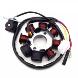 Magnetou Stator Aprindere Scuter Baotian Bautian 4T 125cc 150cc 8 Bobine 4 FIRE