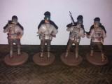 Lot 4 soldati americani - U.S. Army 34th Infantry Division Red Bull 1:32, peste 14 ani, Unisex