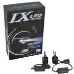 Set Bec H4 2 faze cu LED A9 TAIWAN 30W - 6800 lumen 6000k 12V, ART