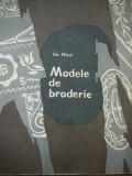 Modele de broderie -  Ida Missir
