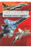 Avioane de lupta. Carte de colorat cu abtibilduri