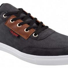 Pantofi Barbati Casual Gri - Distrikt, 40 - 44