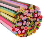 Betisoare Fimo Sweet Mix - Set 50 Bucati