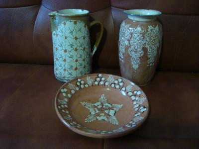 Ceramica  lut  Tompa  TURDA  canceu  vas  farfurie foto