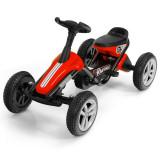 Kard cu pedale pentru copii cu 4 roți Roșu