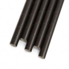 Set 150 paie de unica folosinta Family Pound, 197 x 6 mm, hartie, Negru