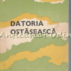 Datoria Ostaseasca - K. K. Rokossovski