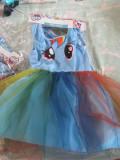 Cumpara ieftin Rochita fetite my little pony,3-4 ani, Albastru