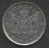 ROMANIA  MIHAI I 200 LEI 1942  Argint 835 / 1000 [4]  XF  ,   liv in cartonas