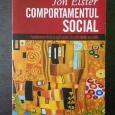 JON ELSTER - COMPORTAMENTUL SOCIAL