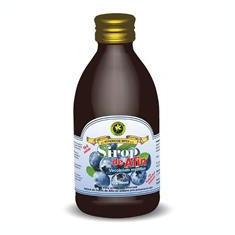 Sirop de Afine cu Indulcitor Natural Stevia Rebaudiana 250ml Hypericum Cod: 22161