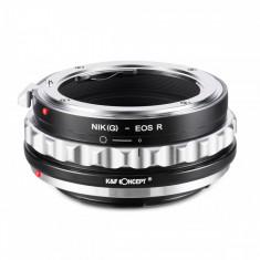 K&F Concept Nik(G)-EOS R adaptor montura de la Nikon G la Canon EOS R KF06.376