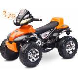 ATV Electric Toyz Quad Cuatro 6V Orange, Portocaliu