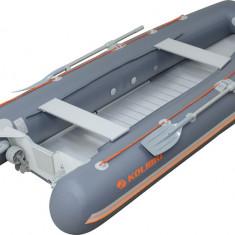 Barca KM-330DSL +podina regida tego, intarita cu profil de aluminiu