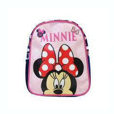 Ghiozdan gradinita mini Pigna Minnie Mouse roz-albastru MNRS1828-1