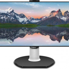 Monitor Philips 329P9H 31.5 inch 5ms Black cu statie de andocare USB-C