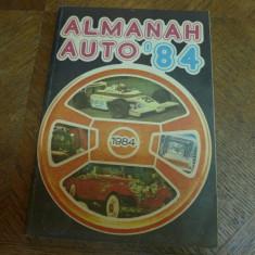 Almanah auto 1984
