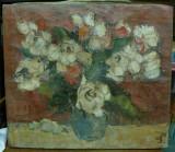 Flori - Sorin Petrusel - Ulei pe panza - Semnat / datat cu dedicatie