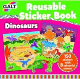 Cartea mea cu stickere Galt, Dinozauri