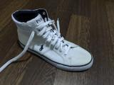 Sneaker alb Ralph polo textil încălțăminte adidași