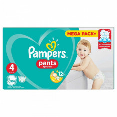 Scutece Pampers Active Baby Pants 4 Mega Box Pack, 104 buc/pachet