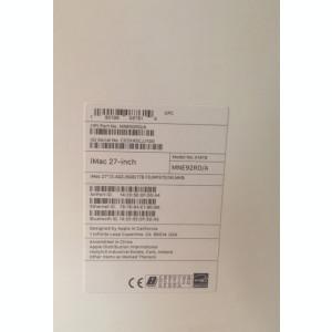 iMac 27 inch,proc.i5,ram 8GB DDR4.video AMD,sigilat ,factura,GARANTIE Romania.