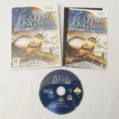 Joc Nintendo Wii - Blazing Angels Squadrons of WW II