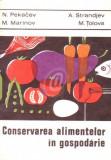 Conservarea alimentelor in gospodarie