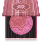 BH Cosmetics Floral fard de obraz in doua culori cu oglinda mica