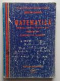 Mircea Ganga - Manual Matematica Clasa a XII-a Profil M1 Elemente De Algebra, Clasa 12, Alte materii