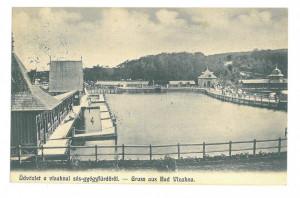 4964 - OCNA SIBIULUI, strandul, Romania - old postcard - used - 1906