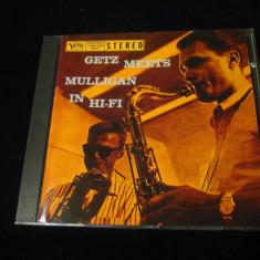 Gerry Mulligan / Stan Getz - Getz Meets Mulligab in Hi Fi_CD _Verve(Europa,1991)