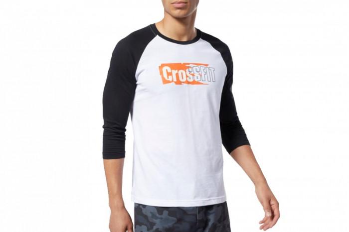 Tricou Reebok CrossFit Sticker Rip Raglan Tee EC1488 pentru Barbati