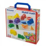 Joc matematica pe roti Miniland, 24 piese
