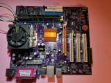 Placa de baza pentru PC - cu DDr1- si procesor AMD Athlon 2600+, DDR, Contine procesor